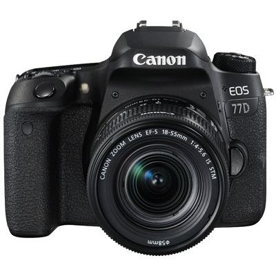 Canon EOS 77D Digital SLR Camera with 18-55mm IS STM Lens